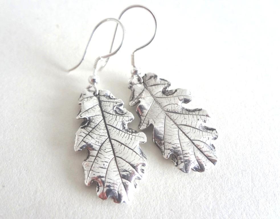 Eichenblätter-Ohrringe